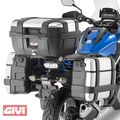 GIVI Side case-carrier Steel tube black | PL1146S250