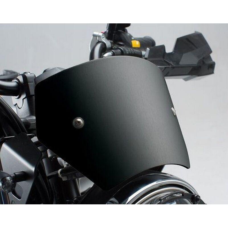 SW-MOTECH Windscreen Black. Suzuki SV650 ABS (15-).   SCT